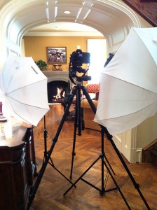 A look behind the camera at a recent interior photography shoot.