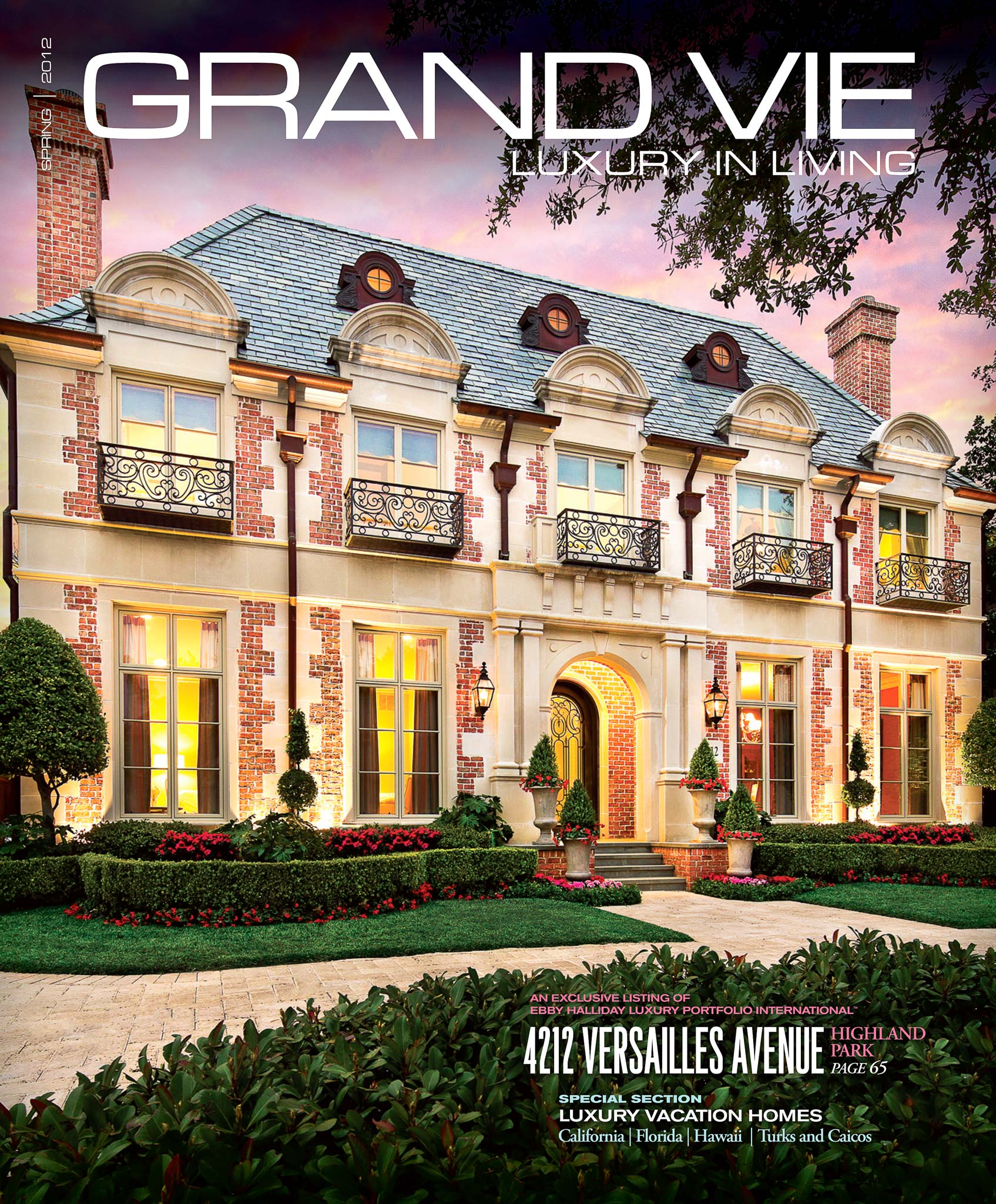 Magazine Cover photo by Sean Gallagher Photography