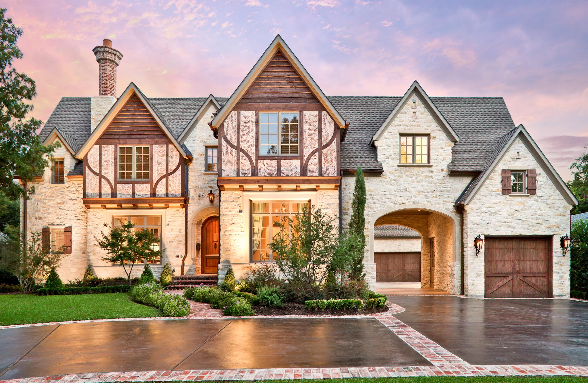 Residential Exterior Services: Dallas Residential Architecture And Interiors Photographer
